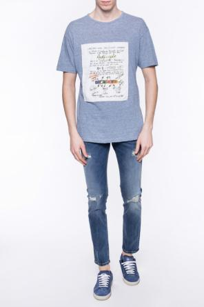 Patched striped t-shirt od Vivienne Westwood