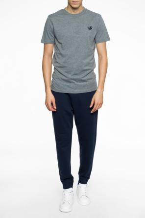 Swallow-patched t-shirt od McQ Alexander McQueen