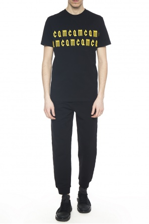 Embroidered inscription t-shirt od McQ Alexander McQueen