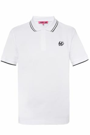 Swallow-patched polo od McQ Alexander McQueen