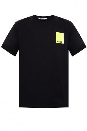 Logo t-shirt od MSGM