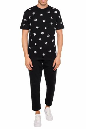 Embroidered t-shirt od McQ Alexander McQueen