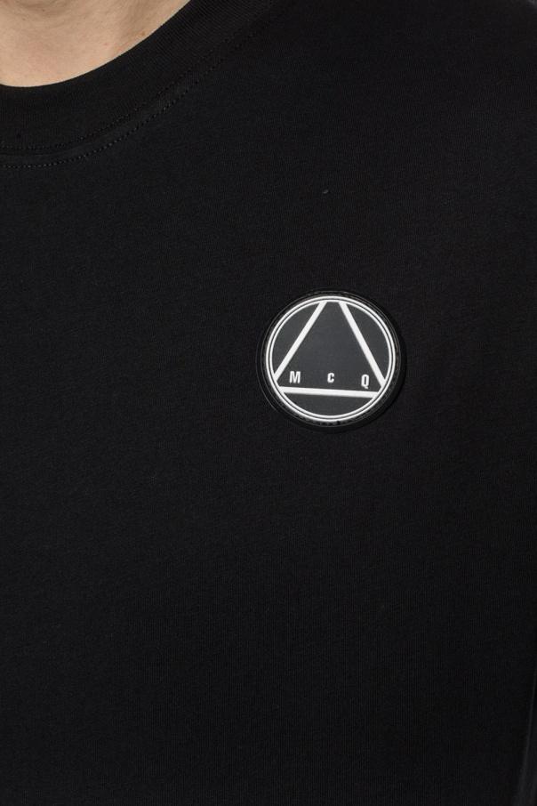 Appliquéd t-shirt od McQ Alexander McQueen