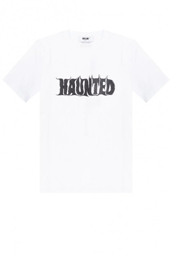 MSGM Logo-printed T-shirt