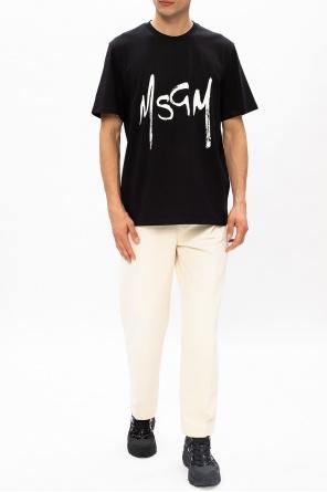 Logo-printed t-shirt od MSGM