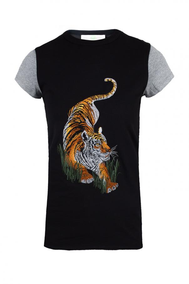 T-shirt z tygrysem od Stella McCartney