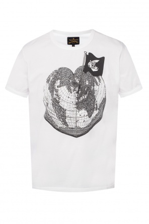 T-shirt with a printed pattern od Vivienne Westwood