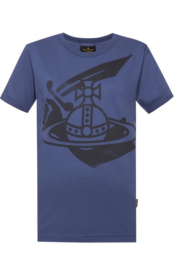 Logo-printed top od Vivienne Westwood
