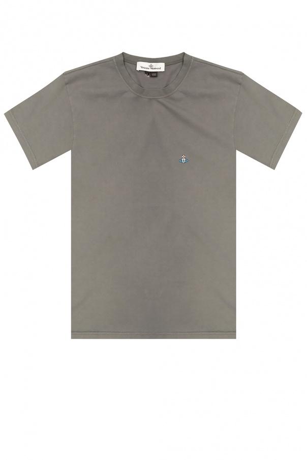 Vivienne Westwood Logo-embroidered T-shirt
