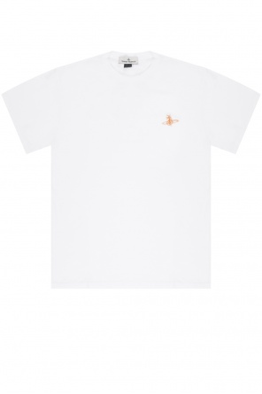 Logo-embroidered t-shirt od Vivienne Westwood