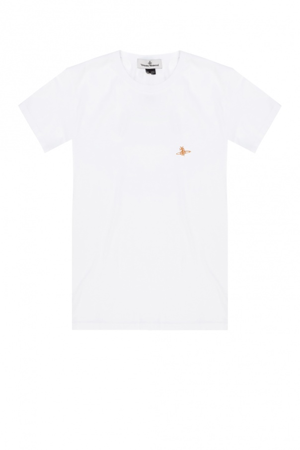 Vivienne Westwood Logo-embroidered T-shirt