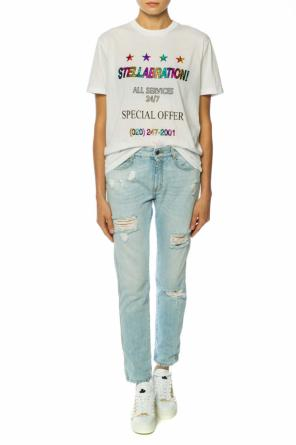 Printed lettering t-shirt od Stella McCartney