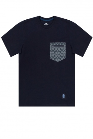 Printed t-shirt with pocket od Coach