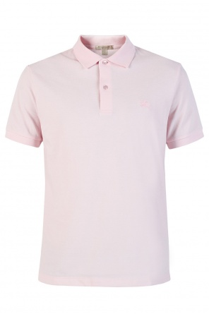 Embroidered logo polo od Burberry