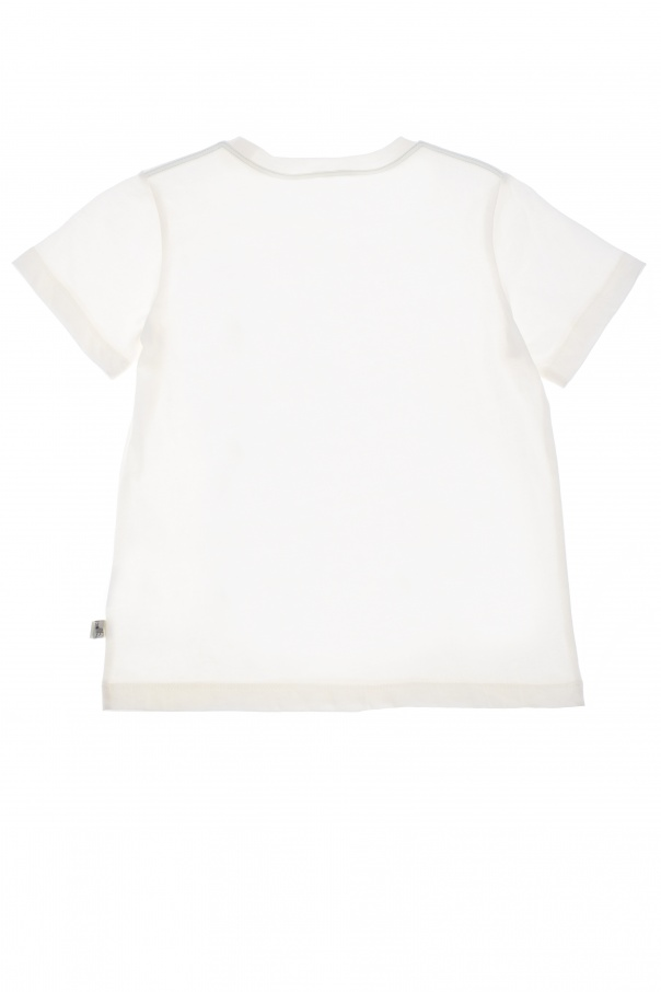 T-shirt z motywem kraba od Stella McCartney Kids