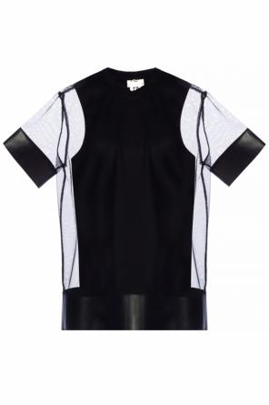 Two-layered mesh t-shirt od Comme des Garcons Ninomiya