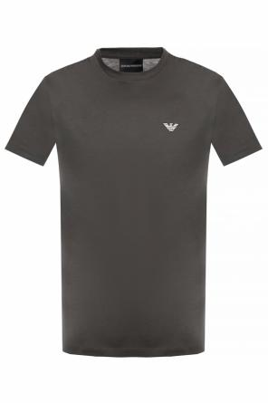 Logo-patched t-shirt 3-pack od Emporio Armani