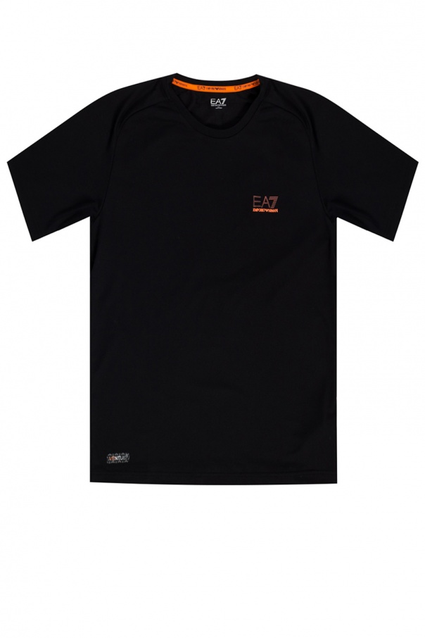 EA7 Emporio Armani T-shirt treningowy z logo