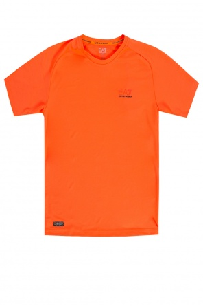 T-shirt treningowy z logo od EA7 Emporio Armani