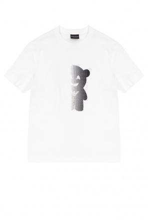 图案饰t恤 od Emporio Armani