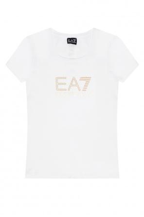 T-shirt with logo od EA7 Emporio Armani