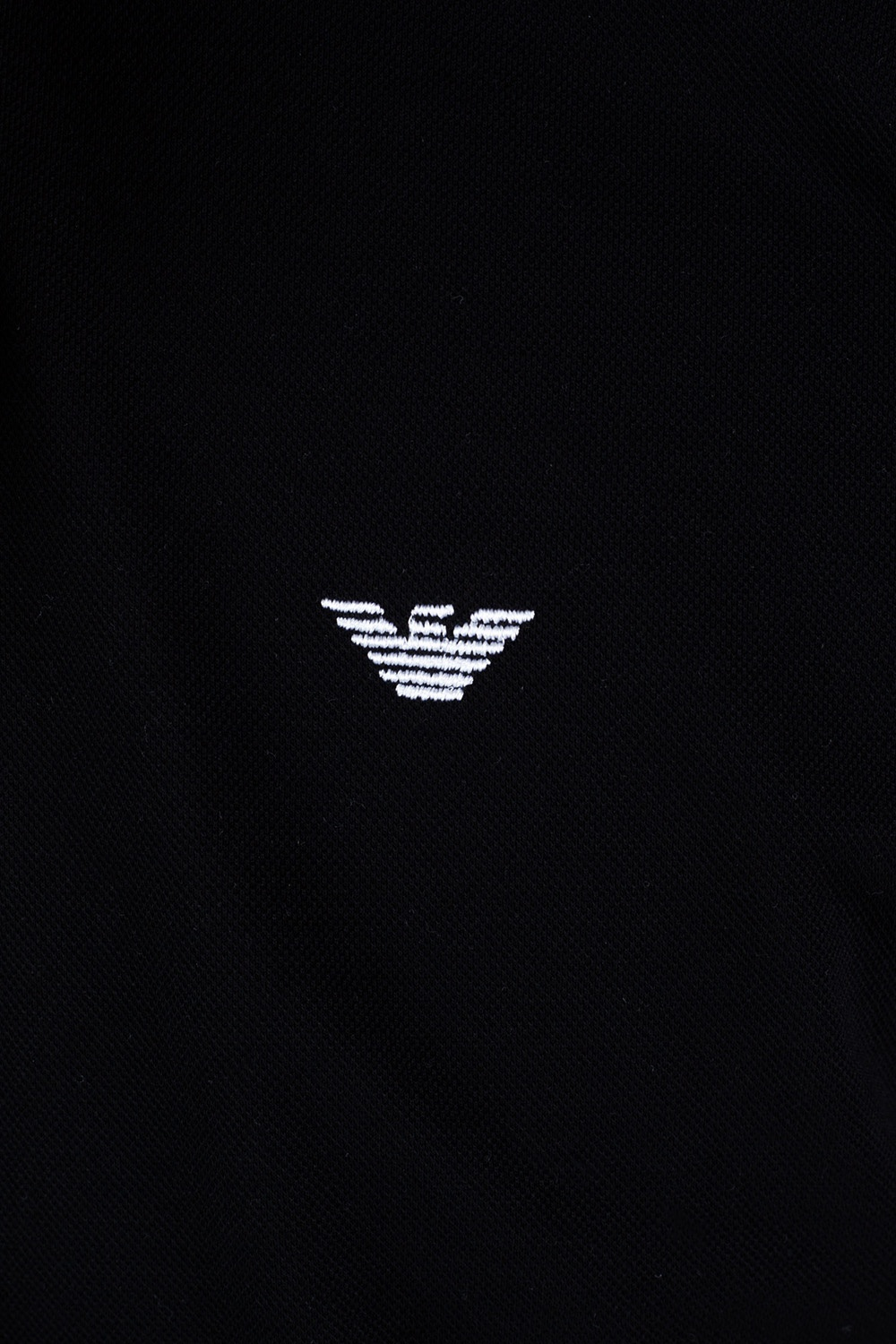 Emporio Armani Logo-embroidered polo