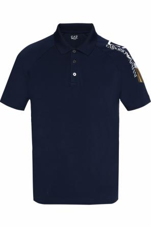 Polo with logo od EA7 Emporio Armani