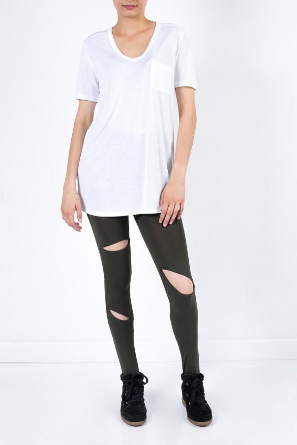 V neck t shirt t by alexander wang vitkac shop online for V neck t shirt online shopping