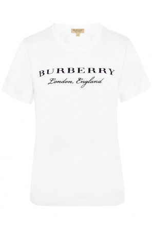Logo t-shirt od Burberry