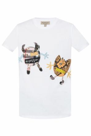 Embellished t-shirt od Burberry