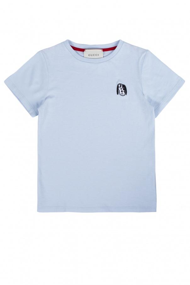 6db50cfb0 Embroidered pattern T-shirt Gucci Kids - Vitkac shop online