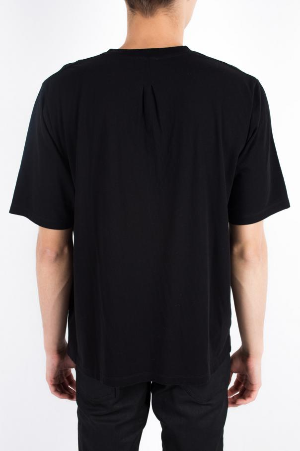 T-shirt z nadrukiem od Saint Laurent Paris