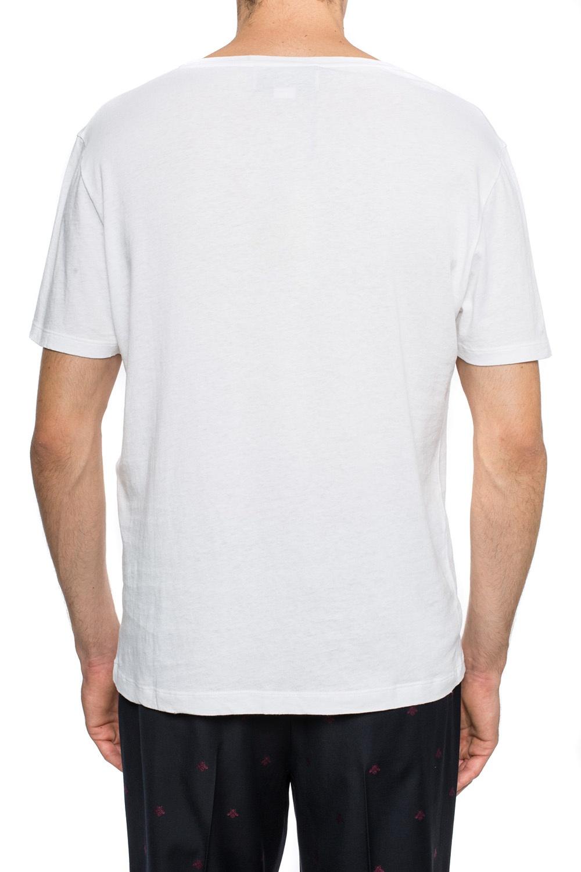 Gucci T-shirt z paskiem 'Web'