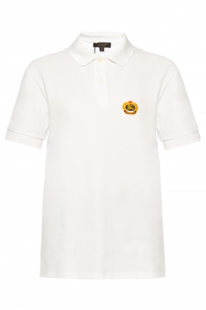 Logo-embroidered polo od Burberry