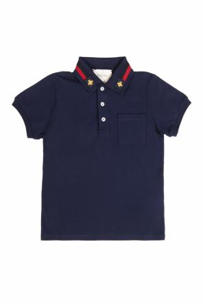 Polo with pocket od Gucci Kids
