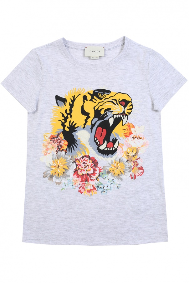 8a2e24507 Printed T-shirt Gucci Kids - Vitkac shop online