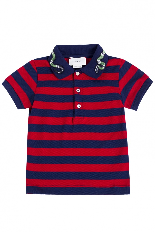 97a75020 Striped polo Gucci Kids - Vitkac shop online