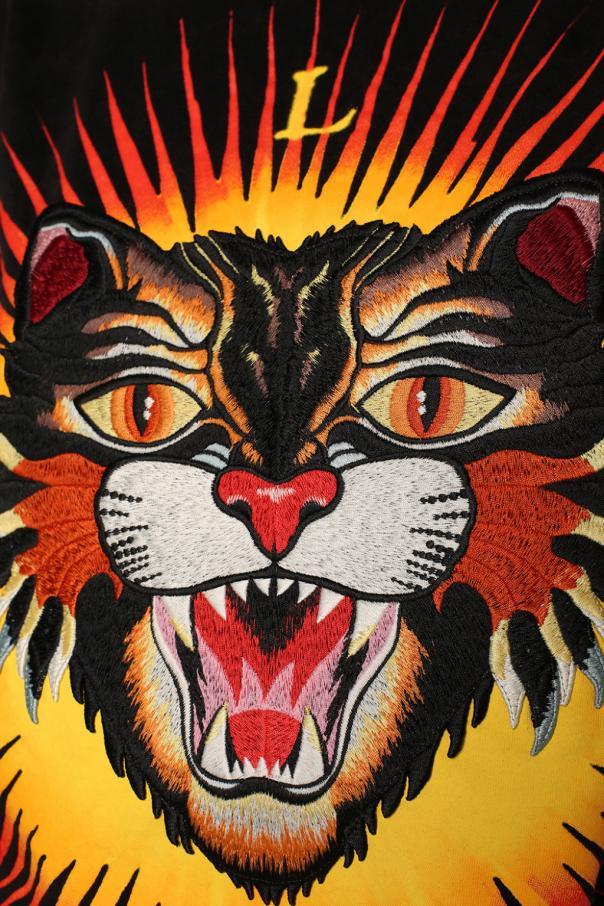 63cff1816 Tiger head motif t-shirt Gucci - Vitkac shop online