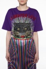 Embellished t-shirt od Gucci