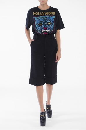 Embroidered t-shirt od Gucci