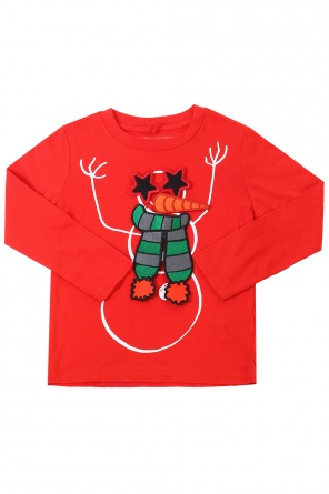 Printed t-shirt with long sleeves od Stella McCartney Kids