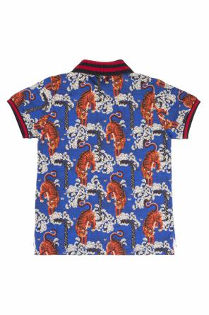 Patterned polo od Gucci Kids