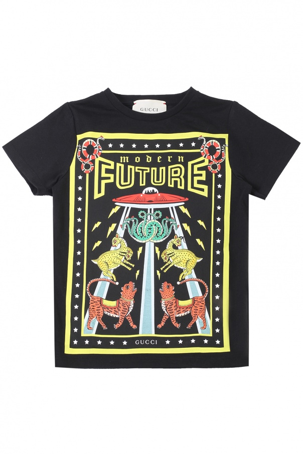fb1d9bd73808 Patterned T-shirt Gucci Kids - Vitkac shop online