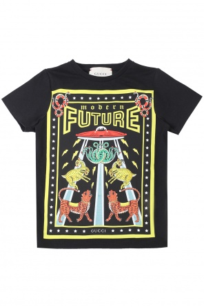 Patterned t-shirt od Gucci Kids
