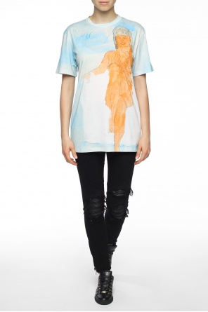Printed t-shirt od Christopher Kane