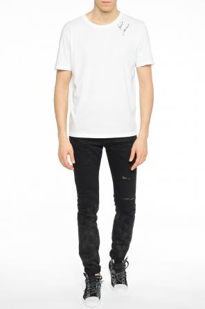 Printed t-shirt od Saint Laurent Paris