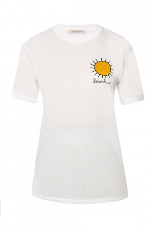 Embroidered t-shirt od Christopher Kane