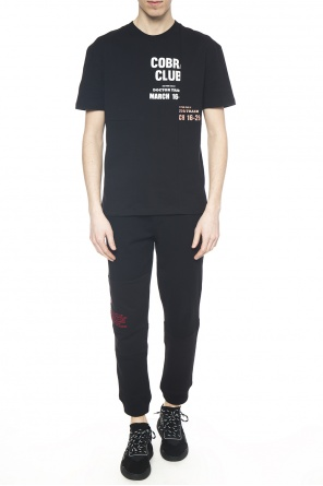 T-shirt with lettering od McQ Alexander McQueen