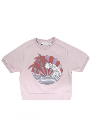Sweatshirt with short sleeves od Stella McCartney Kids