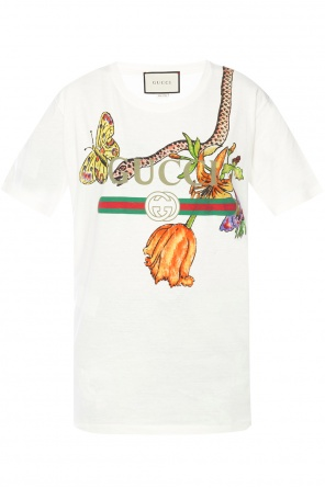 Patterned t-shirt od Gucci